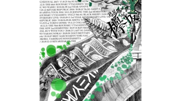 欅坂46の佐藤詩織が卒業ブログに残した絵