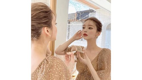 韓国のモデルテリのメイク