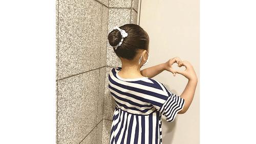 加護亜依の娘のみなみちゃんはバレエを習っている