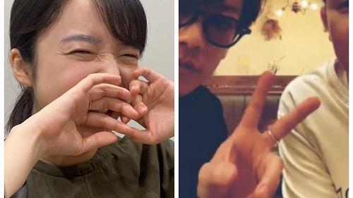 佐藤健と上白石萌音(たけもね)の匂わせ画像
