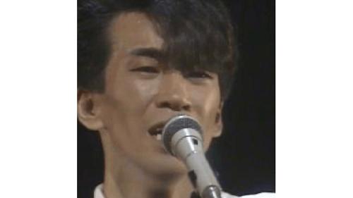 デビュー間もない玉置浩二