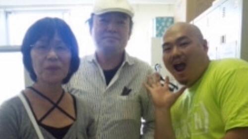 実家の広島から様子を見に来るクロちゃんの両親