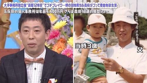 さらば青春の光森田の父親の顔画像