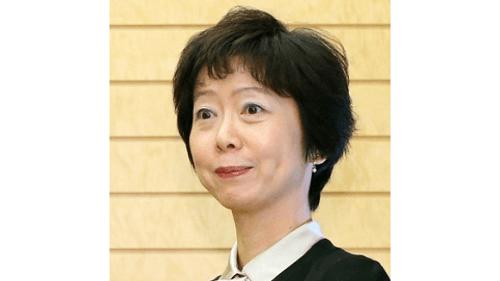 給料の一部返納を発表した山田真貴子内閣広報官