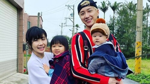 福原愛の家族写真①