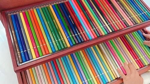 福原愛が子供にプレゼントした色鉛筆