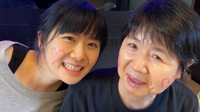 福原愛さんと母親の千代さん