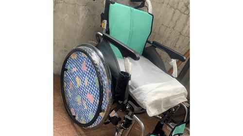 福原愛さんの母親が使っている車椅子